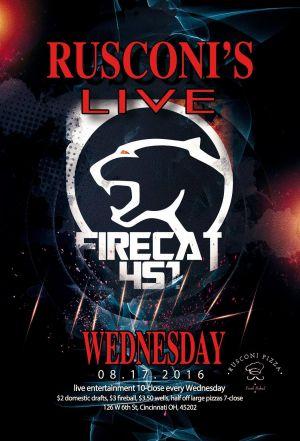 Firecat 451 Live at Rusconi's