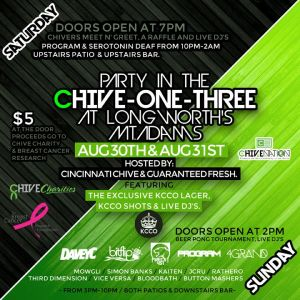 Party In The Chive One Three 2014